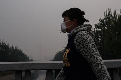 大気汚染が中度~重度に悪化 15日の北京