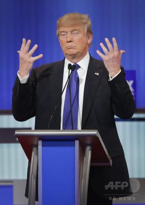 トランプ氏、討論会で過去最大級の「ひわいな」発言 米大統領選