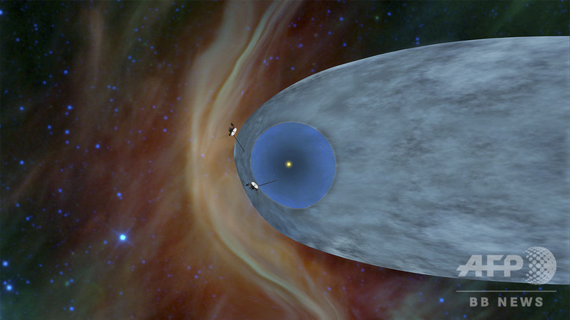 NASA探査機ボイジャー2号、星間...