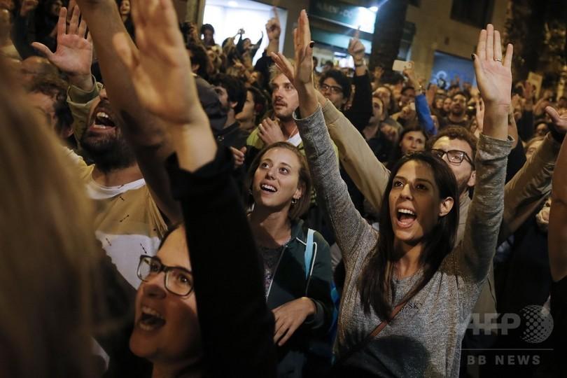 カタルーニャ独立投票、賛成派が9割で「勝利」