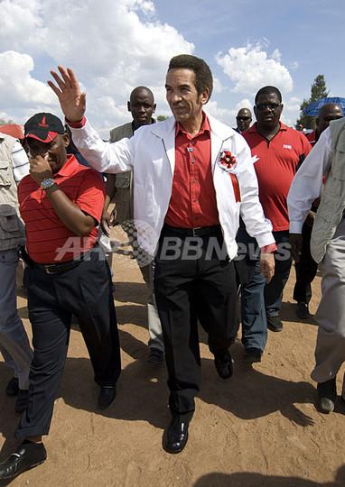 ボツワナ議会選、与党圧勝でカー...