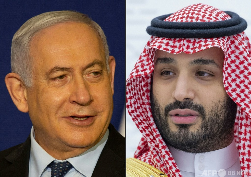 イスラエル首相、ムハンマド皇太子と秘密会談か サウジは報道否定