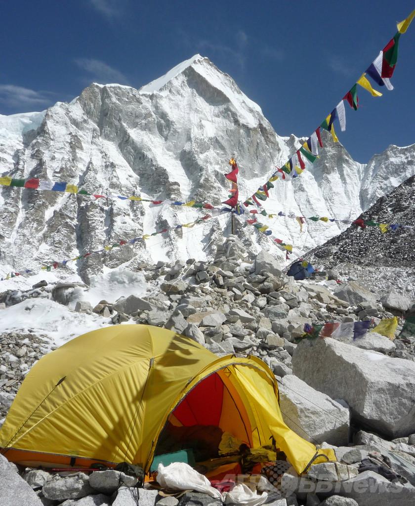 乱闘騒ぎ受けエベレストの保安体制見直し、ネパール