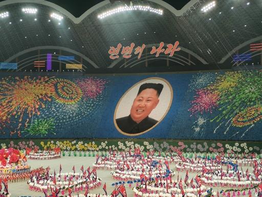 北朝鮮のマスゲーム公演、一時中止へ 金正恩氏の酷評受け