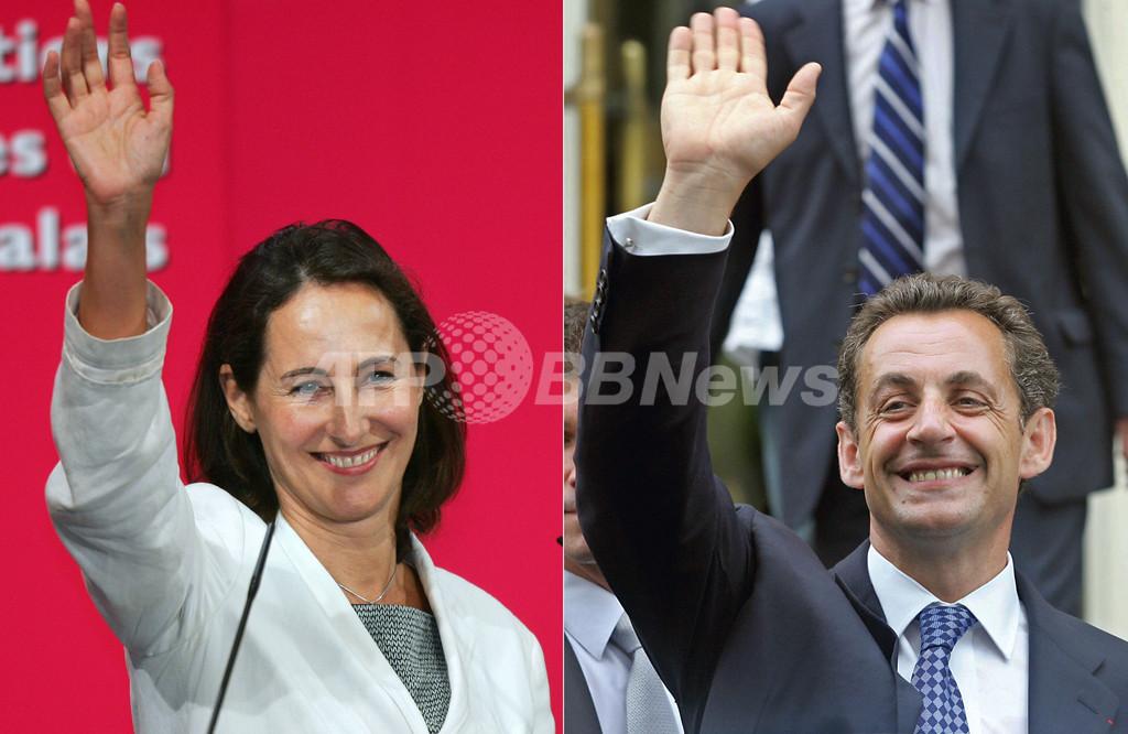 07仏大統領選挙>サルコジ候補とロワイヤル候補、決選投票へ ...