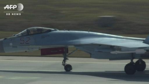 動画:ロシア製戦闘機スホイ35、トルコの航空ショーに登場