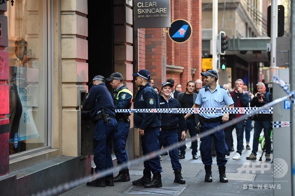 豪シドニー中心部で刃物男が襲撃、1人死亡1人負傷