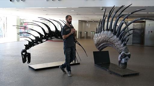 動画:新種の草食恐竜発見、背中に長く鋭いとげの列 パタゴニア