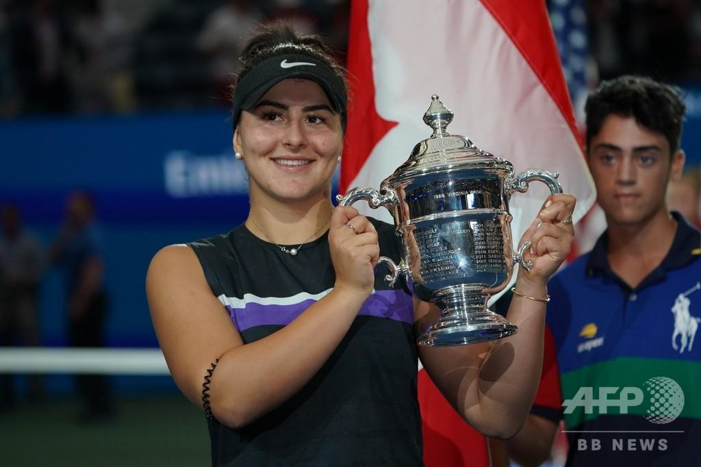 アンドレスク、カナダの年間最優秀スポーツ選手に テニス選手初