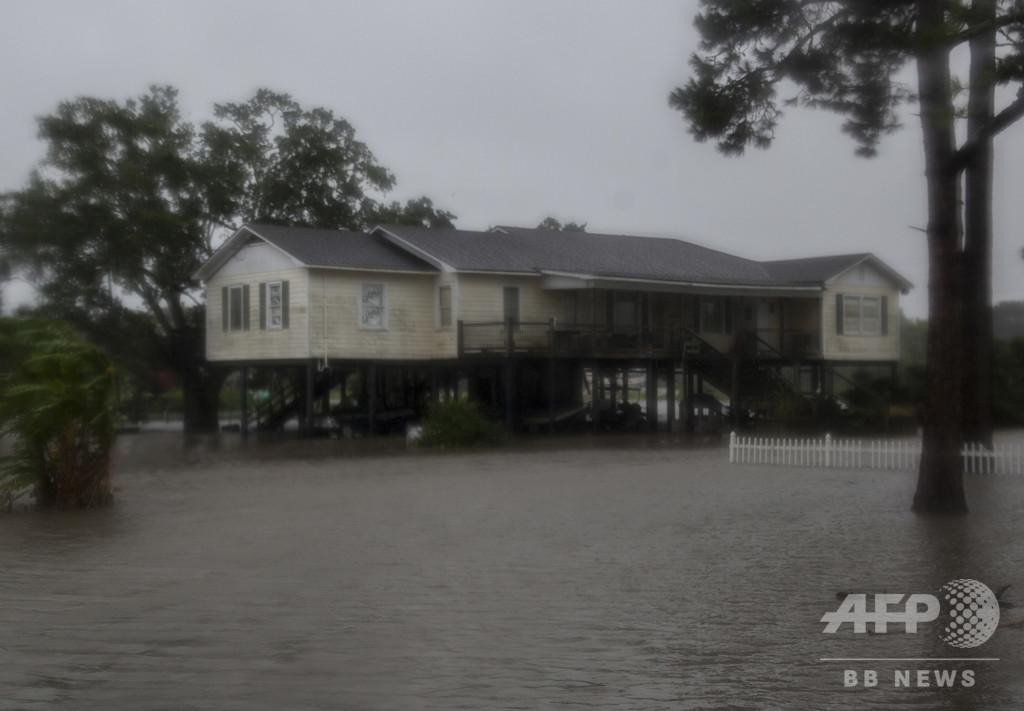 熱帯暴風雨「バリー」、ルイジアナ州上陸 洪水に警戒