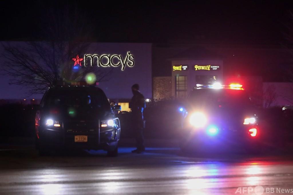 米ウィスコンシン州のショッピングモールで銃撃、8人負傷 犯人逃走中