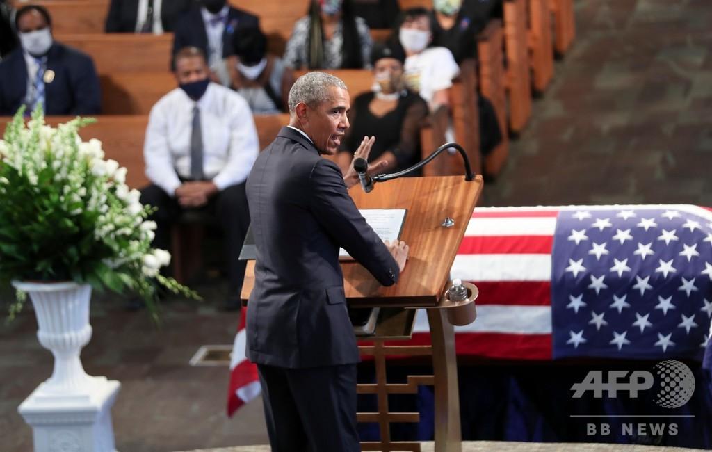 オバマ氏、トランプ氏に過去最大の非難 「権力者」が投票封じ込めに「躍起」
