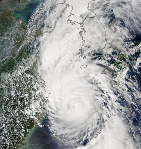 台風13号が朝鮮半島に上陸、北朝鮮で5人 韓国で3人死亡 農作物にも大打撃