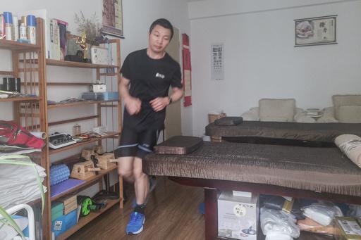 自宅内で66キロ走破!家に閉じこもる中国人ジョギング愛好家が偉業