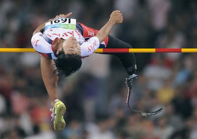 鈴木徹 男子高飛びで5位入賞