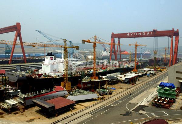 韓国、上半期の造船受注額が過去最高を記録