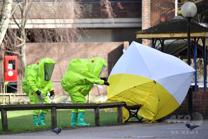 元スパイ毒殺未遂、英警察が容疑者特定し「ロシア人と確信」 報道