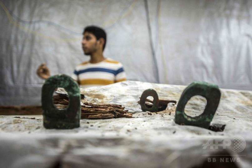 古代エジプト木造船に金属部品、初めて確認