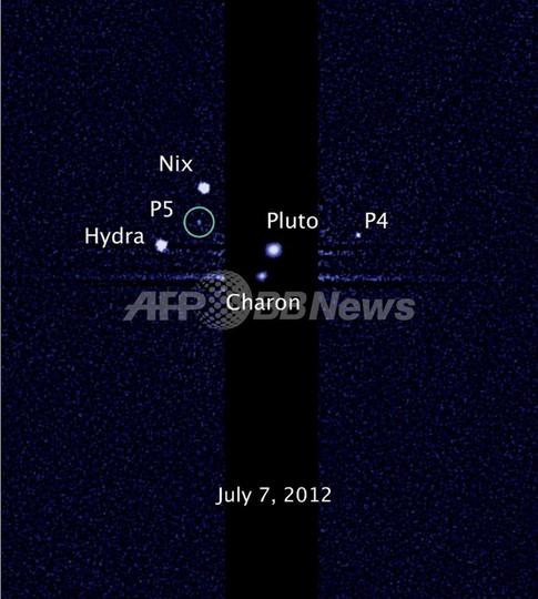 冥王星4、5番目の衛星 「ケルベロス」と「ステュクス」と命名