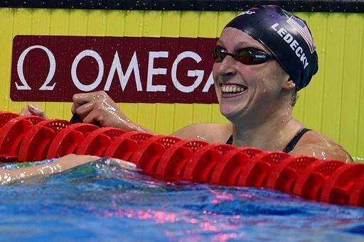レデッキーが自由形2種目で金メダル、世界水泳