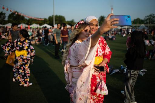 マレーシアで恒例の盆踊り、在留邦人と現地の人々が交流