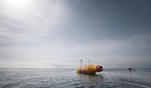 世界最大の「メッセージ入りボトル」が海へ