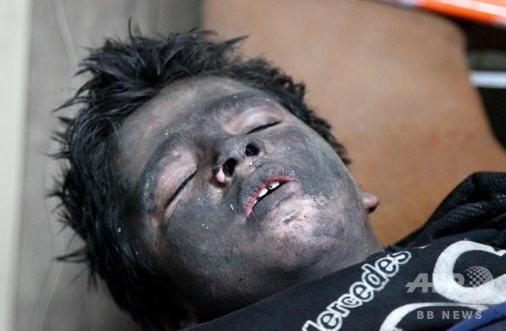 ロシアが停戦発表のシリアで戦闘激化 市民18人死亡の情報