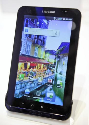 iPadに続々とライバル、サムスンと東芝が多機能情報端末発表
