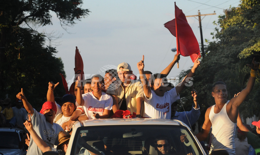 ニカラグア地方選、与党サンディニスタ勝利を野党が拒絶