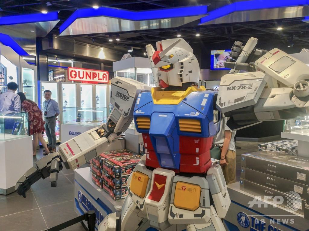中国初のガンダム総合施設 「ガンダムベース上海」がオープン