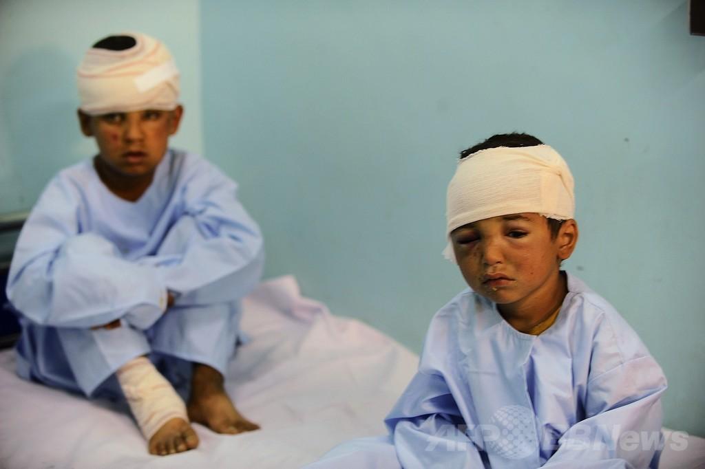 NATO撤退の中、アフガニスタンの死傷者数上昇 国連発表