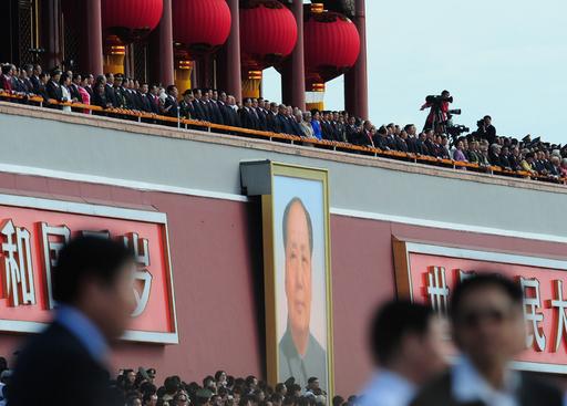 中国、建国60周年 北京で祝賀式典