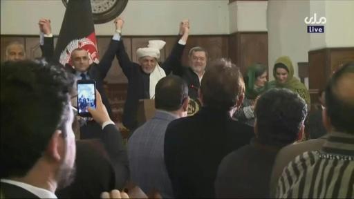 動画:アフガン大統領選、現職ガニ氏再選 対立候補は結果に異議