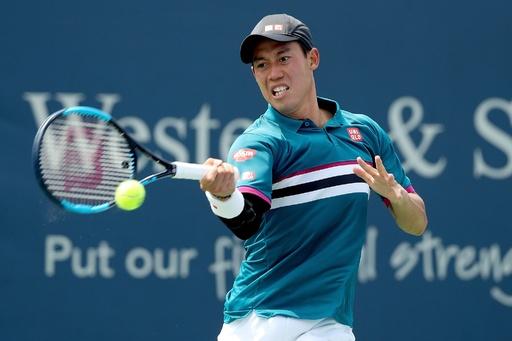錦織、西岡は「強くなっている」 日本人対決で敗退 W&Sオープン
