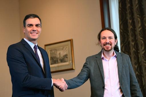 スペイン与党、急進左派と連立樹立で合意