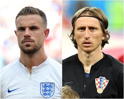 勝敗を左右する3つのマッチアップ、クロアチア対イングランド