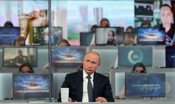 プーチン大統領、国民との対話番組で米欧批判