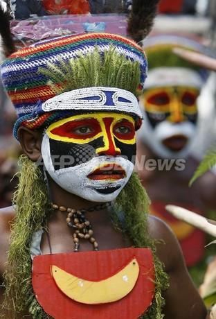 村ぐるみで男の赤ちゃん殺害、部族戦争止めようと10年間 パプアニューギニア