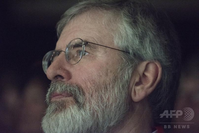 北アイルランド、シン・フェイン党の前党首宅で爆発 背後に「新IRA」か