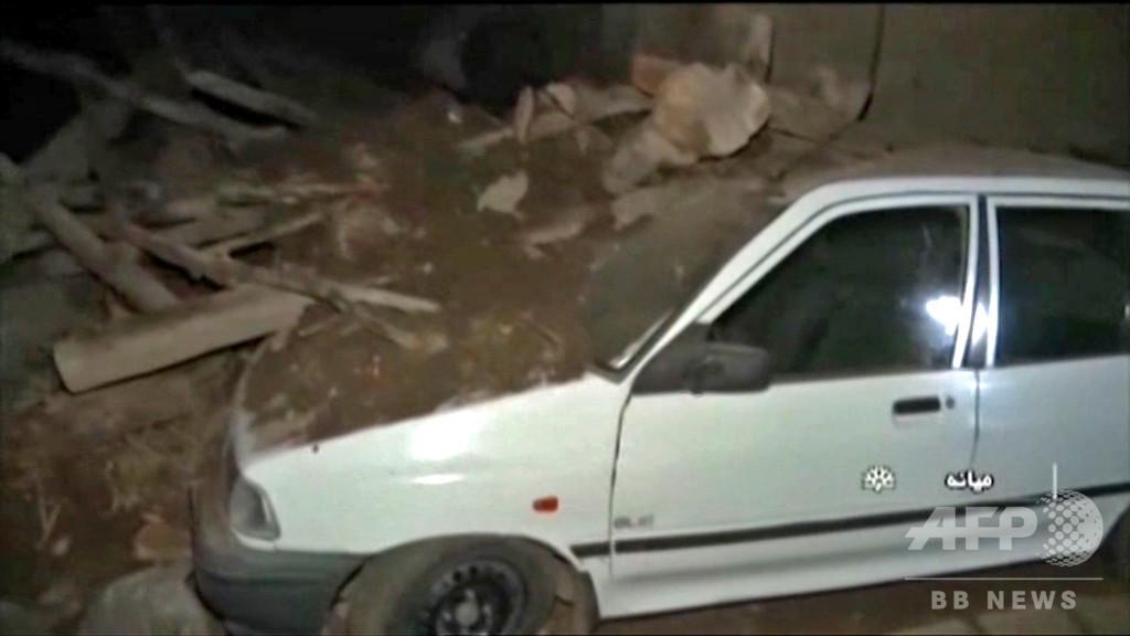 イラン北西部でM5.9の地震 5人死亡、300人超負傷