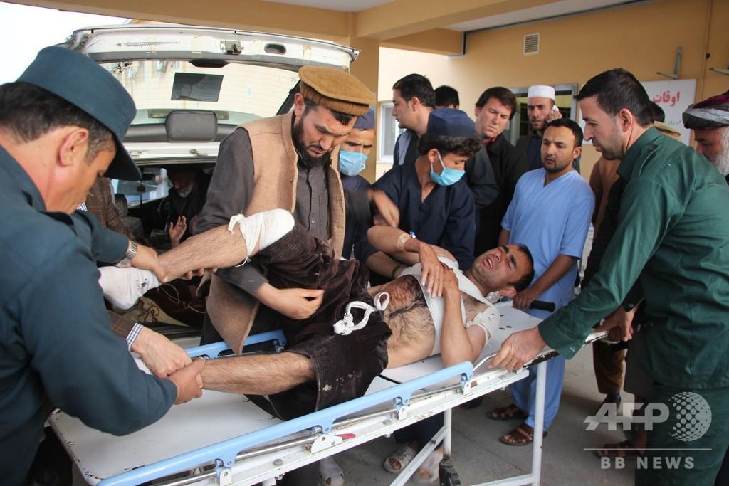下院選候補者の集会で爆発、22人死亡 アフガニスタン