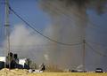 イスラエル軍がガザ攻撃 「飛翔体」発射に報復