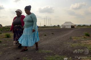 南アのプラチナ鉱山地帯、女性4人に1人がレイプ被害