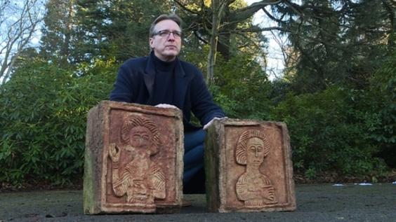 動画:「美術界のインディ・ジョーンズ」、今度は1000年前の石碑を発見