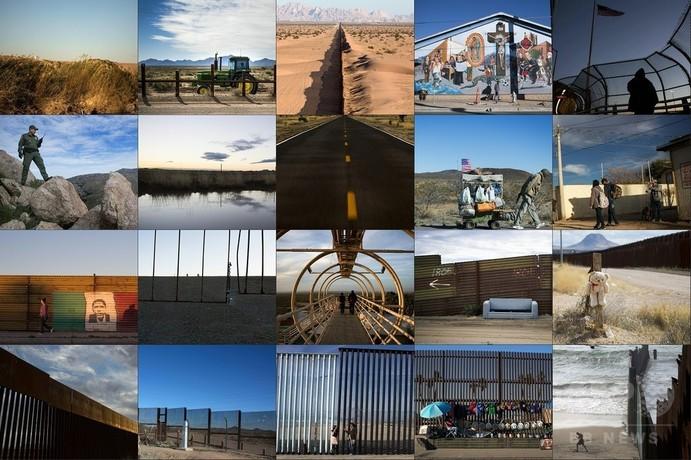 【AFP記者コラム】米メキシコ国境、壁は既に存在していた(パート1)─米国側