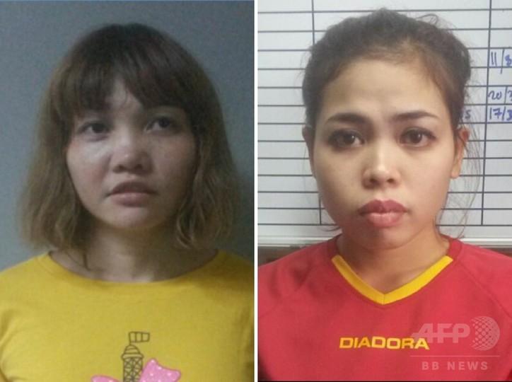 金正男氏殺害、女2人を起訴へ マレーシア当局