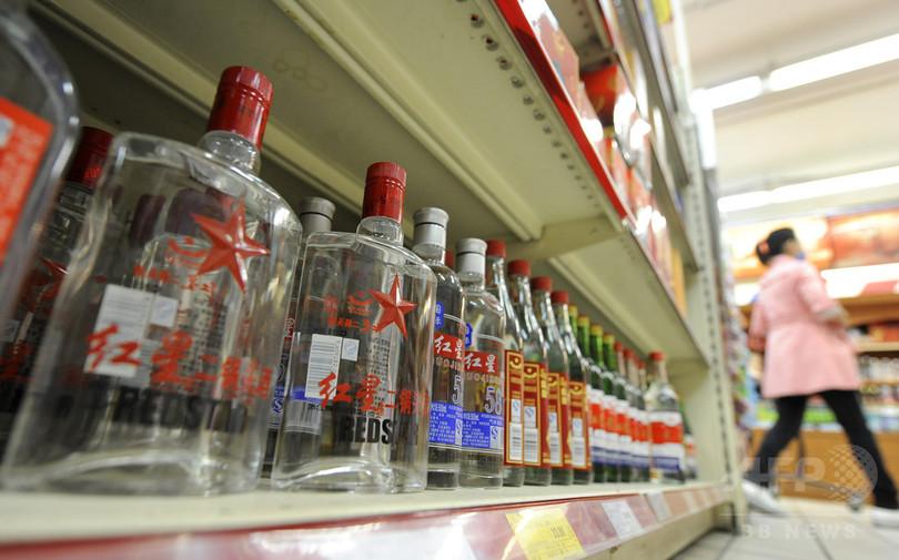 バイアグラ入り「カンフー酒」、5300本超を押収 中国