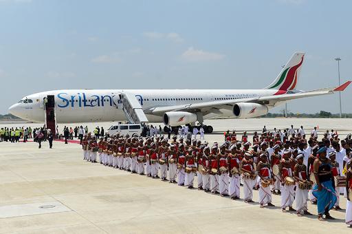 スリランカ航空、前大統領の地元にある国際空港の路線を廃止へ