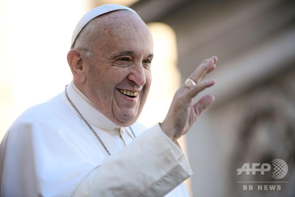 フランシスコ法王、同性愛は「最新流行」 聖職者への影響を懸念