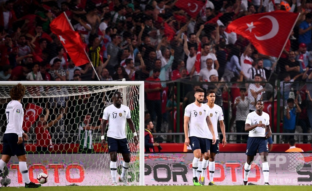 世界王者フランスがトルコに敗れる波乱、欧州選手権予選